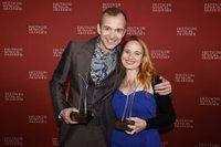 Vera Bolten und Mark Weigel -PREISTRÄGER_BesteDarstellerinBesterDarstellerNebenrolle_Fotocredit_Morris Mac Matzen.jpg
