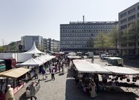 Wochenmarkt M¸lheim, Wiener Platz