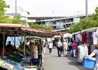 Wochenmarkt Porz, Bahnhofstrafle